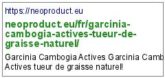 https://neoproduct.eu/fr/garcinia-cambogia-actives-tueur-de-graisse-naturel/